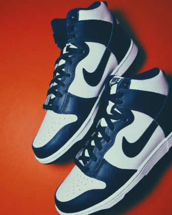 """Now Available: Nike Dunk High """"Championship Navy"""""""