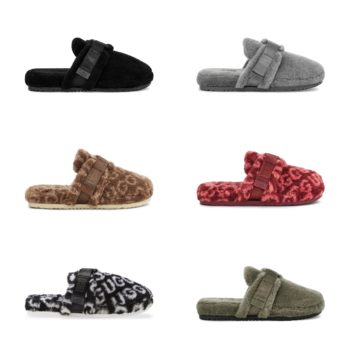 Now Available: UGG Shearling Fluff it Slippers