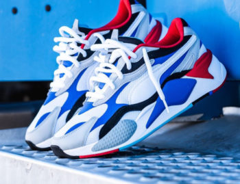 """Puma RS-X3 """"Dazzling Blue"""" : Sale Price; $52.49 (Retail $110)  – FREE SHIPPING – use code:  – FLASH –  at checkout"""