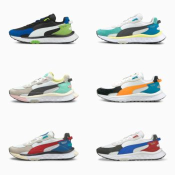 Puma Wild Rider Runners: Sale Price: $39.99 (Retail $100)  – free shipping on orders $50+