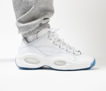 """Reebok Question Low """"White Ice"""": Sale Price: $89.99 (Retail $120)  – FREE SHIPPING"""