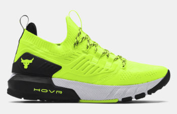 Under Armour Project Rock 3 'Hi-Vis Yellow' $79.99 Free Shipping